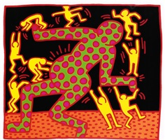 fertility, [3] by keith haring